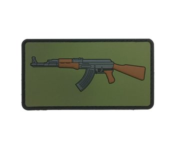 Zoo Tactical AK Emoji PVC Patch