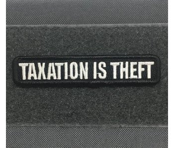 Tactical Outfitters Taxation Is Theft Morale Patch