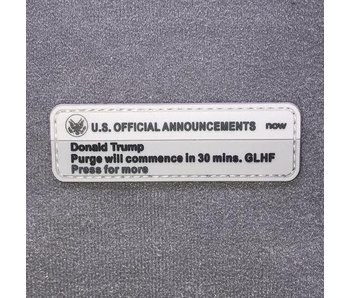 Tactical Outfitters Presidential Alert - Purge - PVC