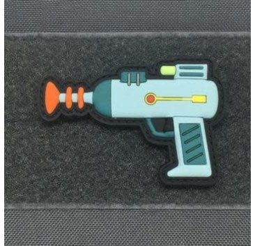 Tactical Outfitters Tactical Outfitters Rick's Laser Gun 3D PVC Patch  (Rick and Morty)