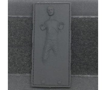 Tactical Outfitters Han Solo in Carbonite PVC Patch Black
