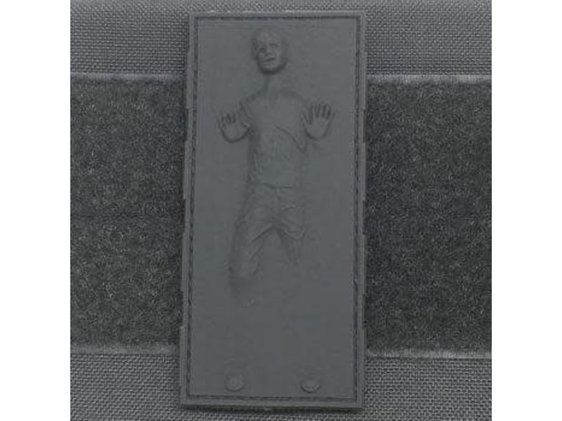 Tactical Outfitters Tactical Outfitters Han Solo in Carbonite PVC Patch Black
