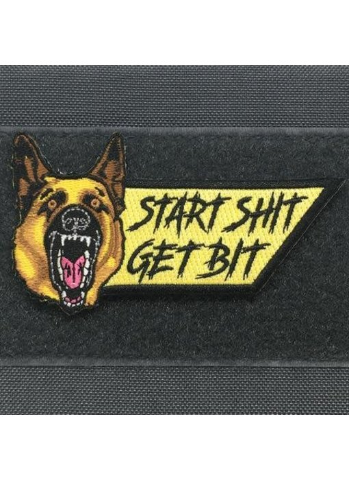 Tactical Outfitters Start Shit Get Bit Morale Patch