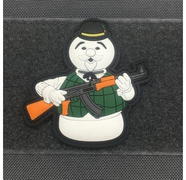 Tactical Outfitters Tactical Outfitters Frosty Snowman Christmas Morale Patch