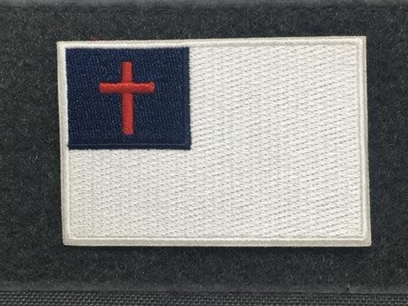 Tactical Outfitters Tactical Outfitters Christian Flag Morale Patch