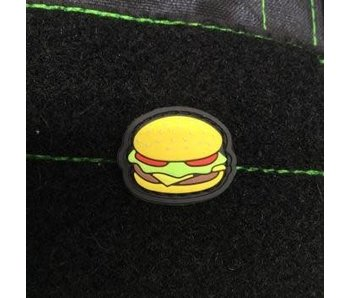 Tactical Outfitters Cheeseburger GITD PVC Cat Eye Patch