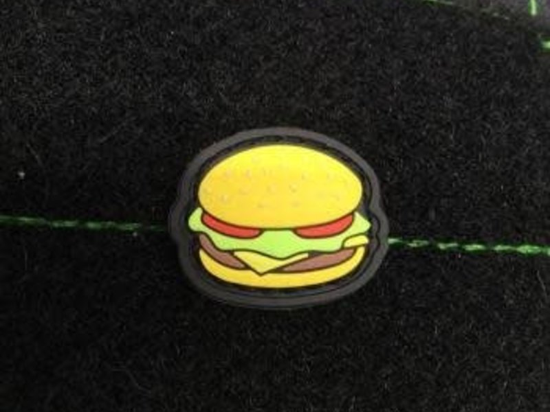 Tactical Outfitters Tactical Outfitters Cheeseburger GITD PVC Cat Eye Patch