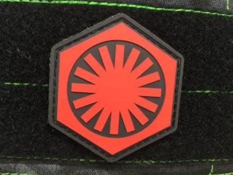 Tactical Outfitters Tactical Outfitters First Order PVC Morale Patch