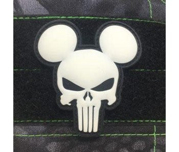 Tactical Outfitters Mickey Punisher GITD PVC Patch