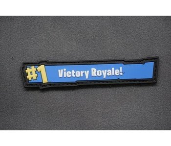 Tactical Outfitters Victory Royale 3D PVC Morale Patch
