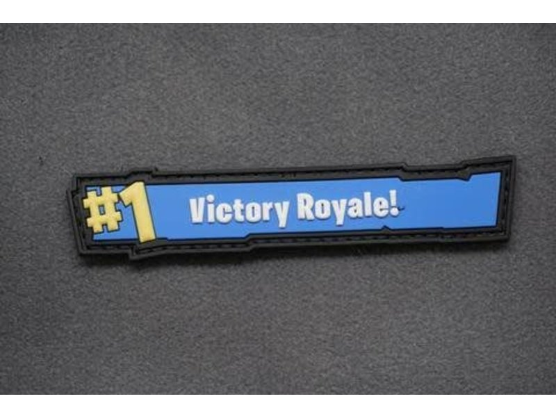 Tactical Outfitters Tactical Outfitters Victory Royale 3D PVC Morale Patch