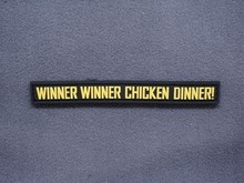 Tactical Outfitters Tactical Outfitters Winner Winner Chicken Dinner! PVC Morale Patch