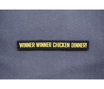 Tactical Outfitters Winner Winner Chicken Dinner! PVC Morale Patch