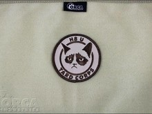 Orca Industries Orca Industries Grumpy Cat, Tard Corps Patch, Desert