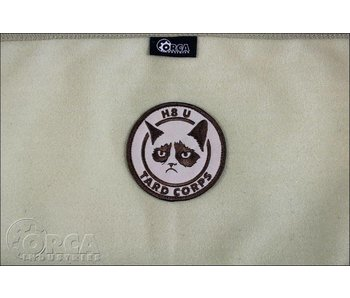 Orca Industries Grumpy Cat, Tard Corps Patch, Desert