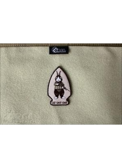 Orca Industries CatShitOne Botasky Patch, Desert