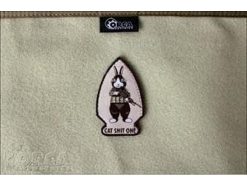 Orca Industries Orca Industries CatShitOne Botasky Patch, Desert