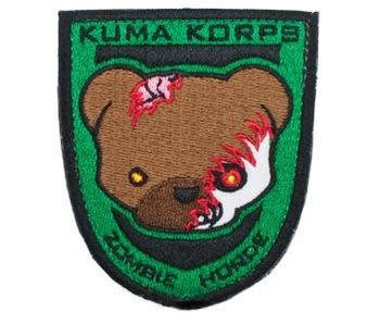 Orca Industries Kuma Korps - Zombie Horde Patch