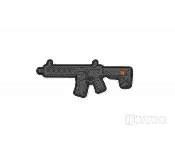 PTS C4 4'' Patch PVC, Black