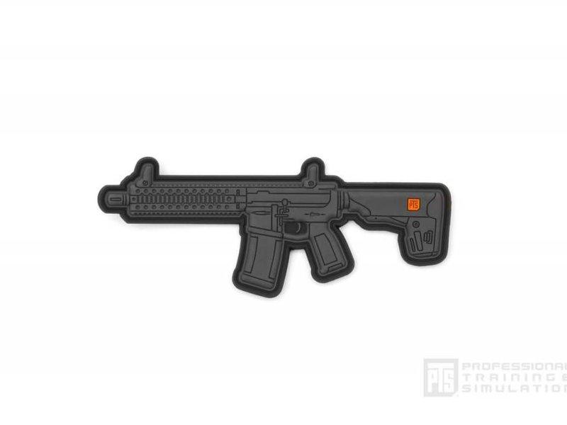PTS PTS C4 4'' Patch PVC, Black