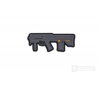 PTS PDR-D 3.6'' PVC Patch,  Black