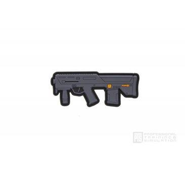 PTS PTS PDR-D 3.6'' PVC Patch,  Black