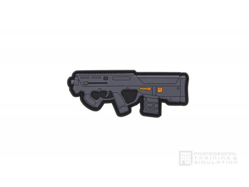 PTS PTS PDR-C 3.75'' PVC Patch, Black