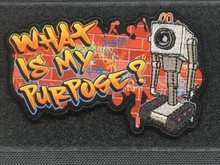 """Tactical Outfitters Tactical Outfitters """"What Is My Purpose?'' Patch"""