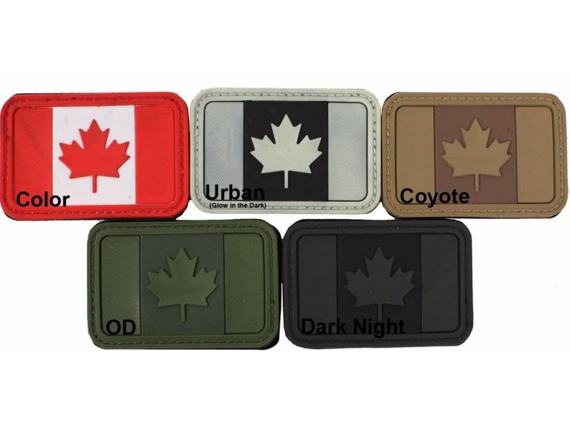 Airsoft Extreme Canadian Flag PVC Patch