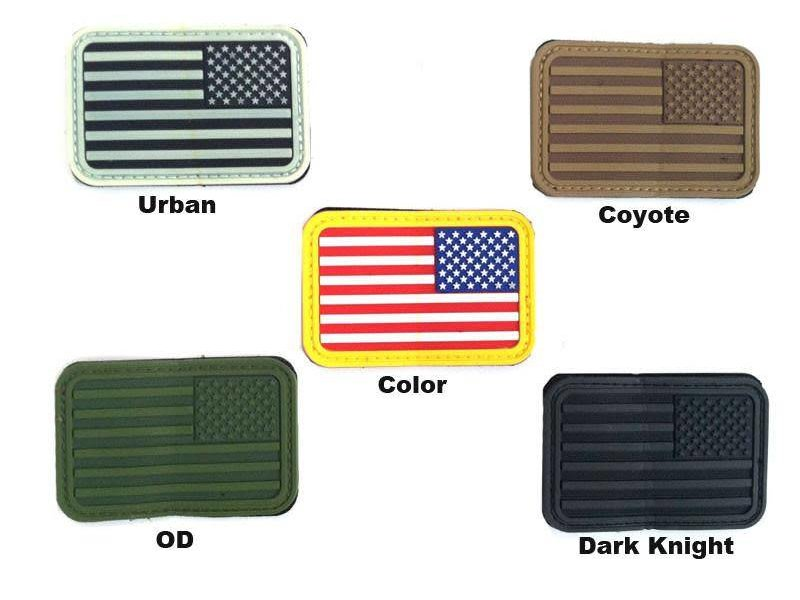 Airsoft Extreme USA PVC Flag Patch