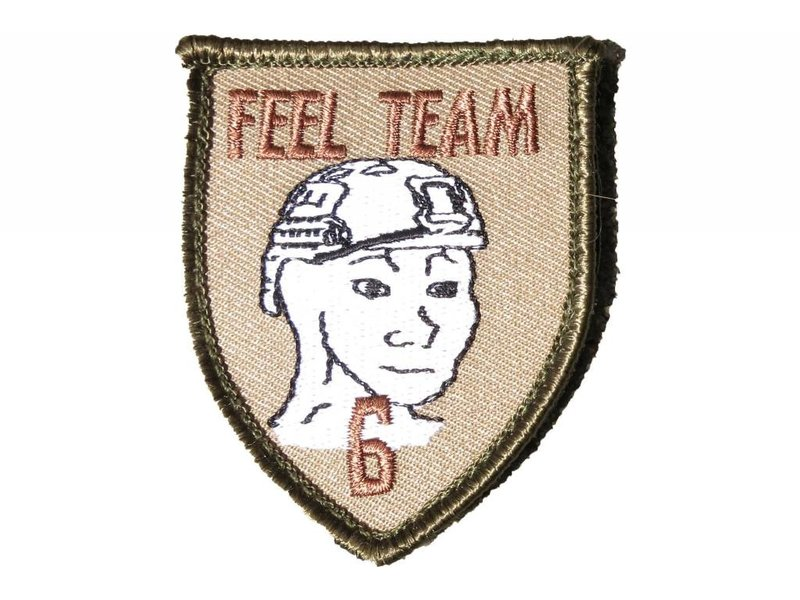 Amped Amped Feel Team Six Patch