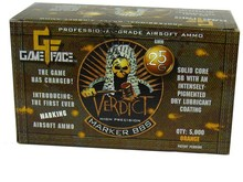 Gameface Gameface Verdict 0.25g 5000 ct
