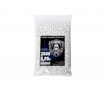AEX 0.28g 3,500 round 6mm Airsoft BBs