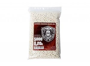 Airsoft Extreme AEX 0.20g 5000ct 6mm Airsoft BBs