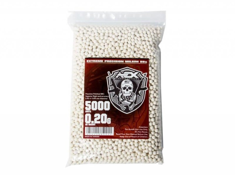 Airsoft Extreme AEX 0.20g BBs 5000 ct