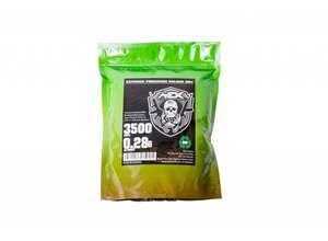 Airsoft Extreme AEX 0.28g 3500ct Biodegradable 6mm Airsoft BBs