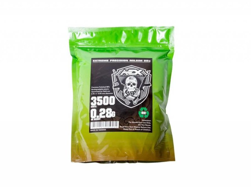 Airsoft Extreme AEX 0.28g Biodegradable BBs (3500 ct)