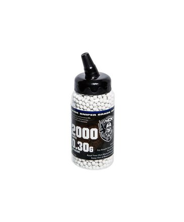 Airsoft Extreme AEX 0.30g BBs 2000 ct Bottle