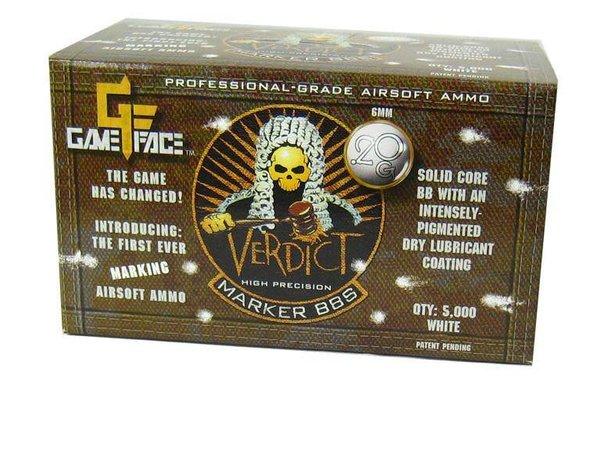 Gameface Gameface Verdict 0.20g 5000 ct