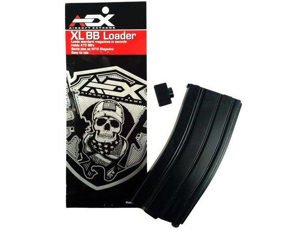 Airsoft Extreme AEX 470 Round Speed Loader Black