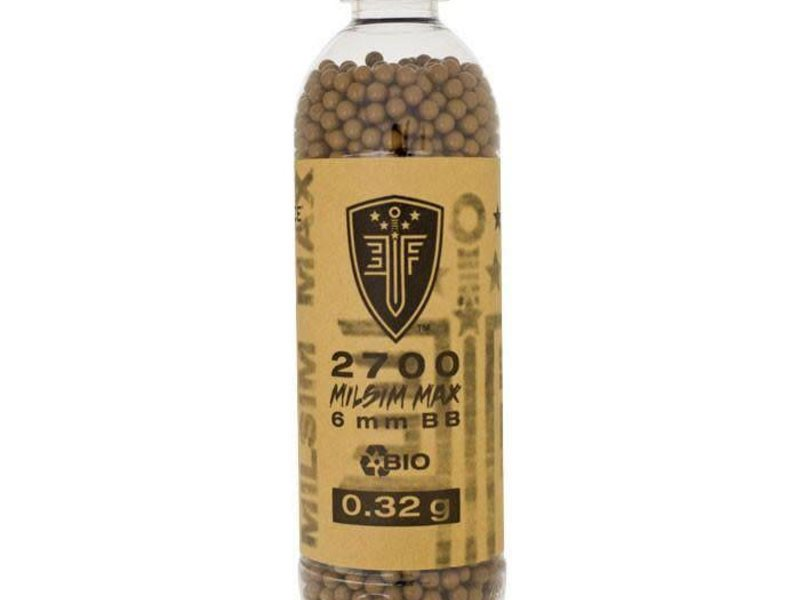 Elite Force Elite Force MilSim Max BIO .32g BBs 2700ct Bottle