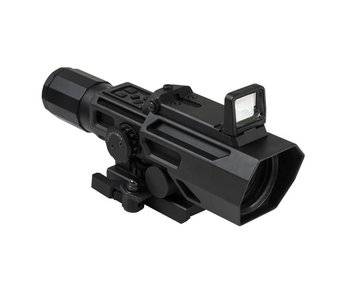NC Star ADO 3-9x42 P4 Sniper Scope with Flip Up Dot