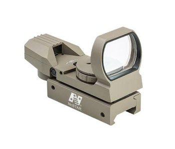 NC Star 4 Reticle Red/Green Dot Sight