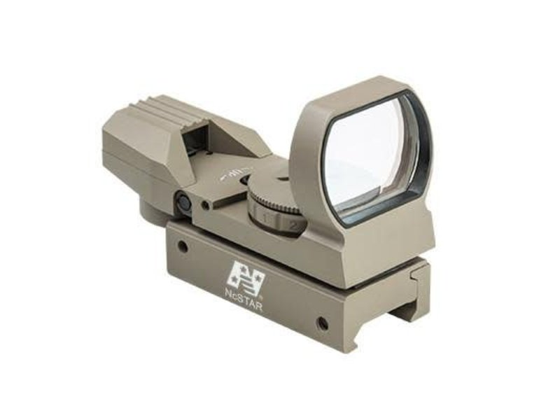 NcStar NcStar 4 Reticle Red/Green Dot Sight with Weaver Base