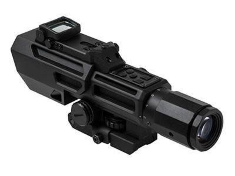 NcStar NC Star Advance Dual Optic 3-9x42mm Sniper Scope With Flip Up RMR
