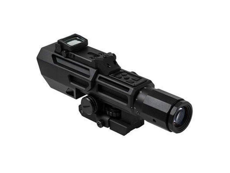 NcStar NC Star Advance Dual Optic 3-9x42mm Sniper Scope With Flip Up RMR
