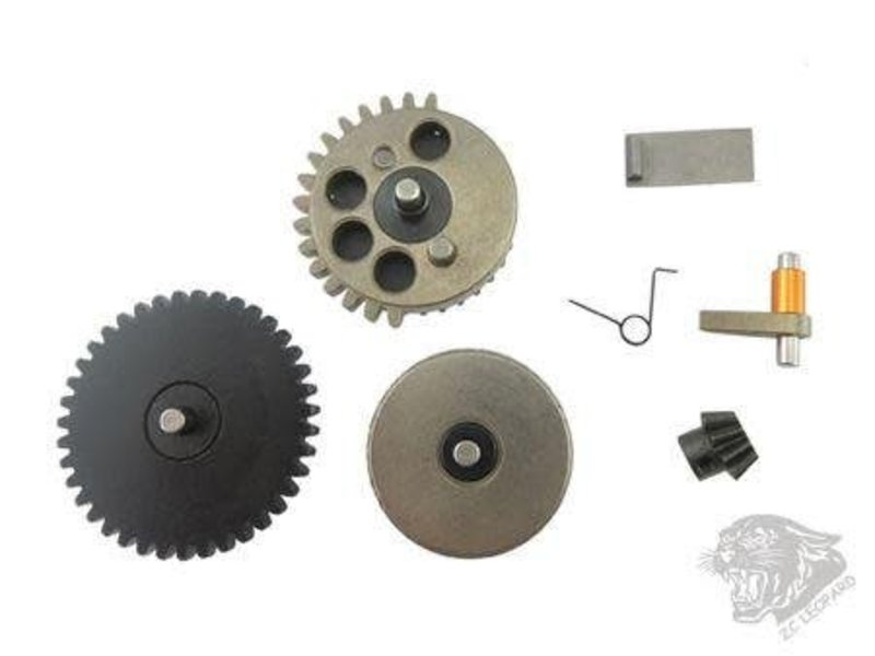ZCI ZCI 3mm CNC Gear Set with Latch & Pinion