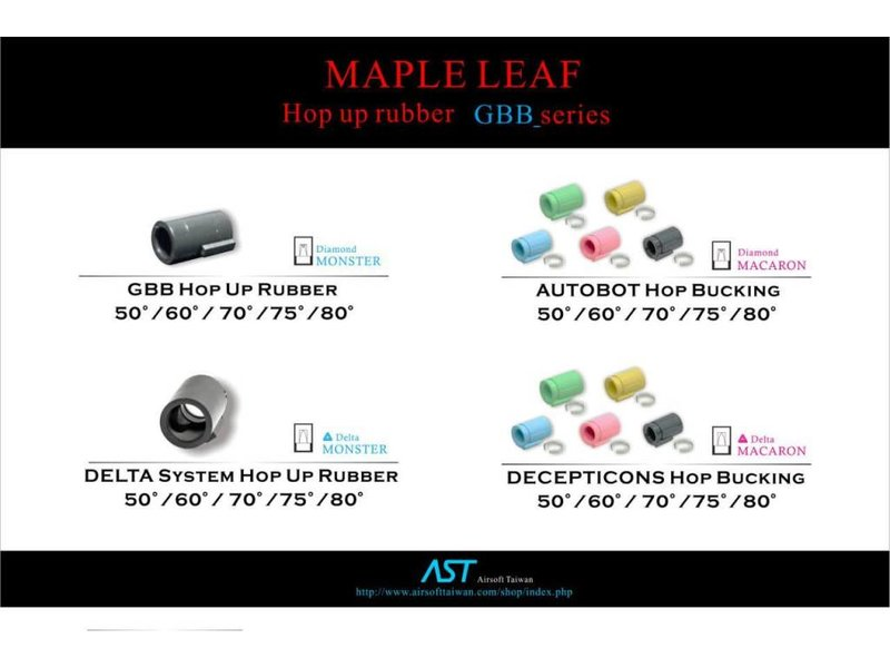 Maple Leaf Maple Leaf Decepticon GBB bucking