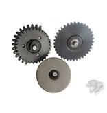 ZCI ZCI 16:1 3mm Bearing CNC Gear Set
