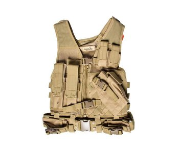 Lancer Tactical Cross Draw Vest Small